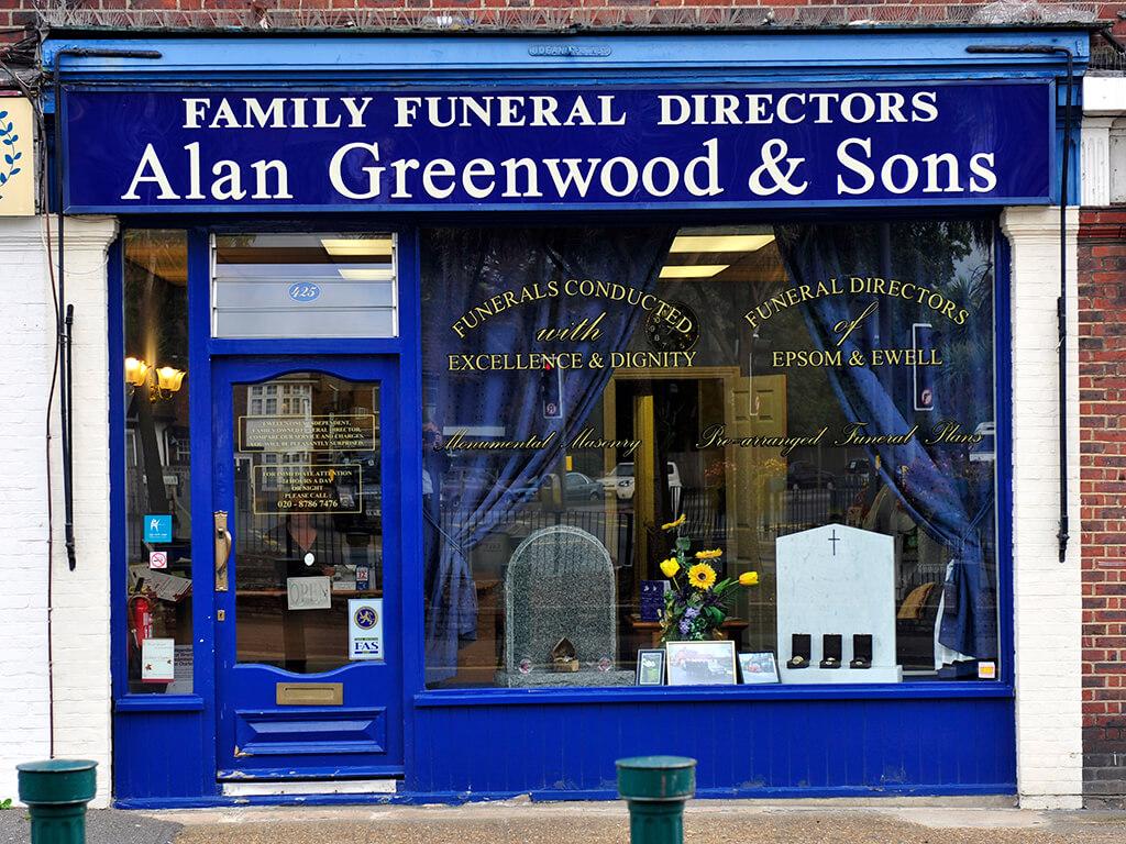 Funeral Directors in Ewell