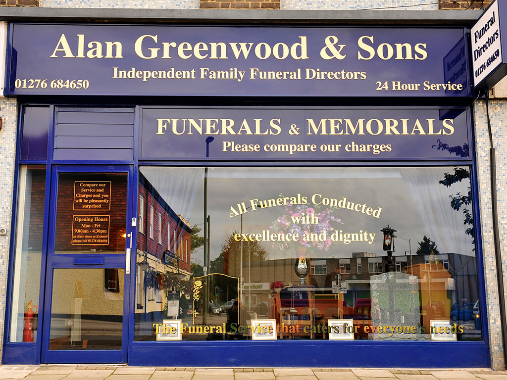 Funeral Directors in Frimley