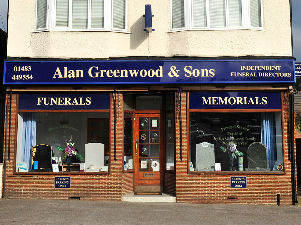 Funeral Directors in Guildford