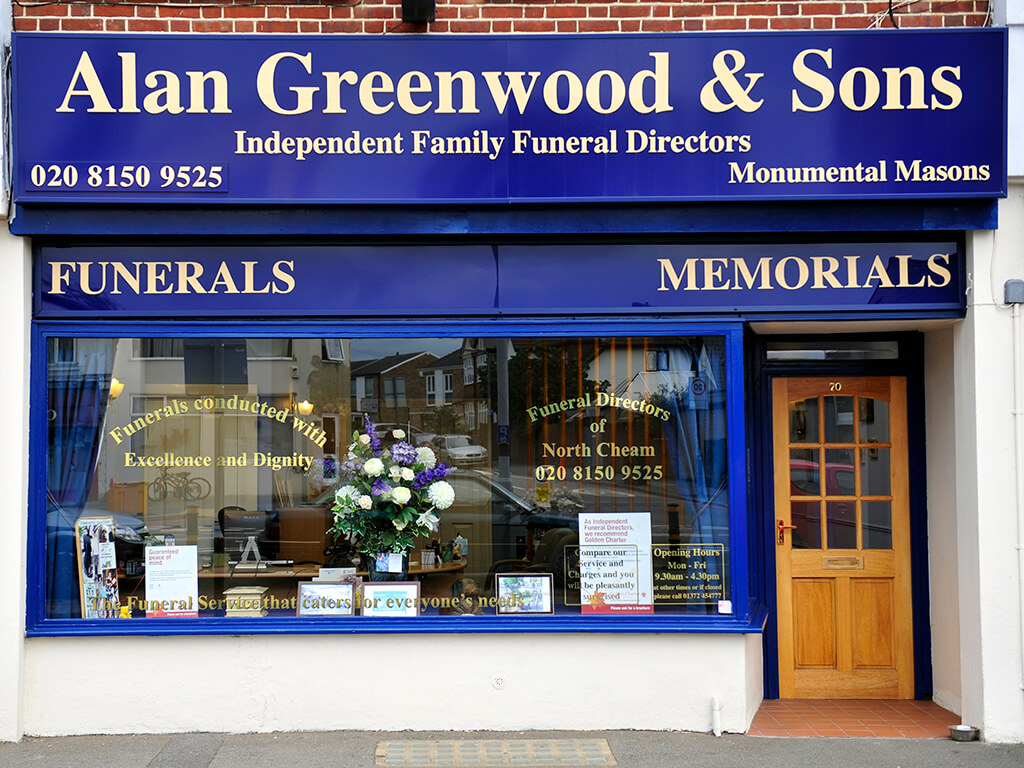 Funeral Directors in North Cheam