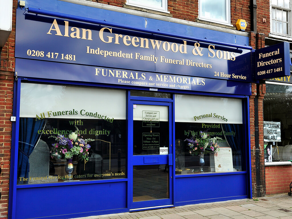 Funeral Directors in Raynes Park
