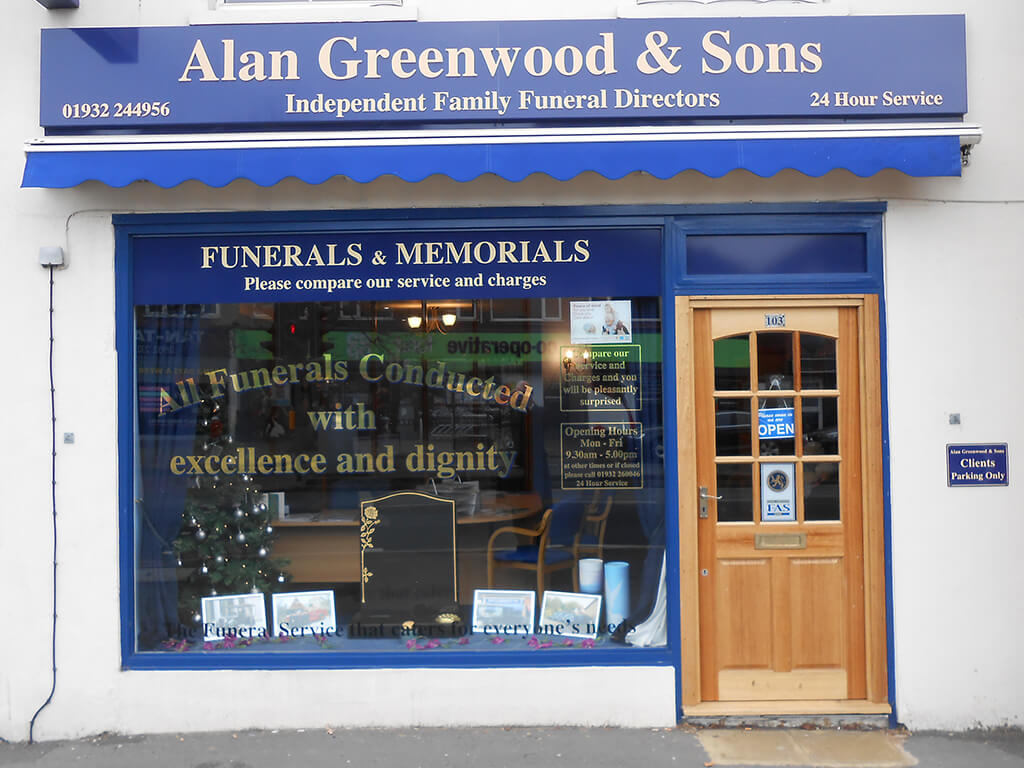 Funeral Directors in Walton on Thames