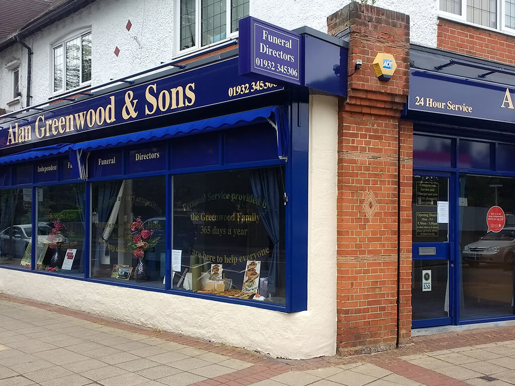 Funeral Directors in West Byfleet