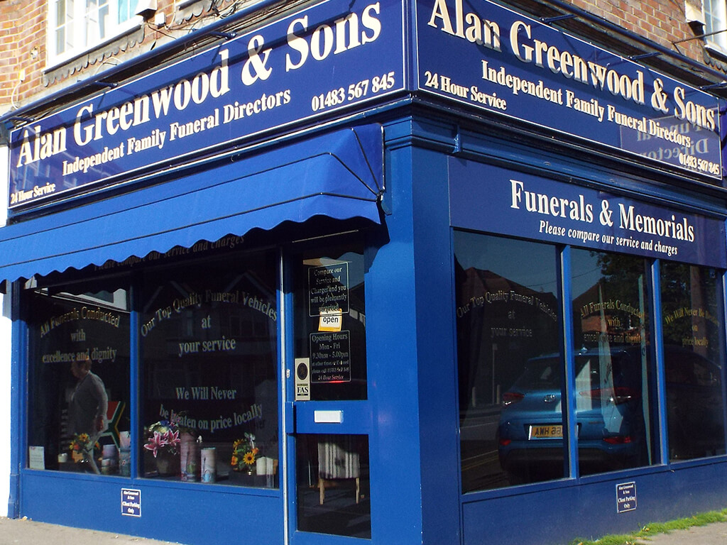 Funeral Directors in Woodbridge Hill
