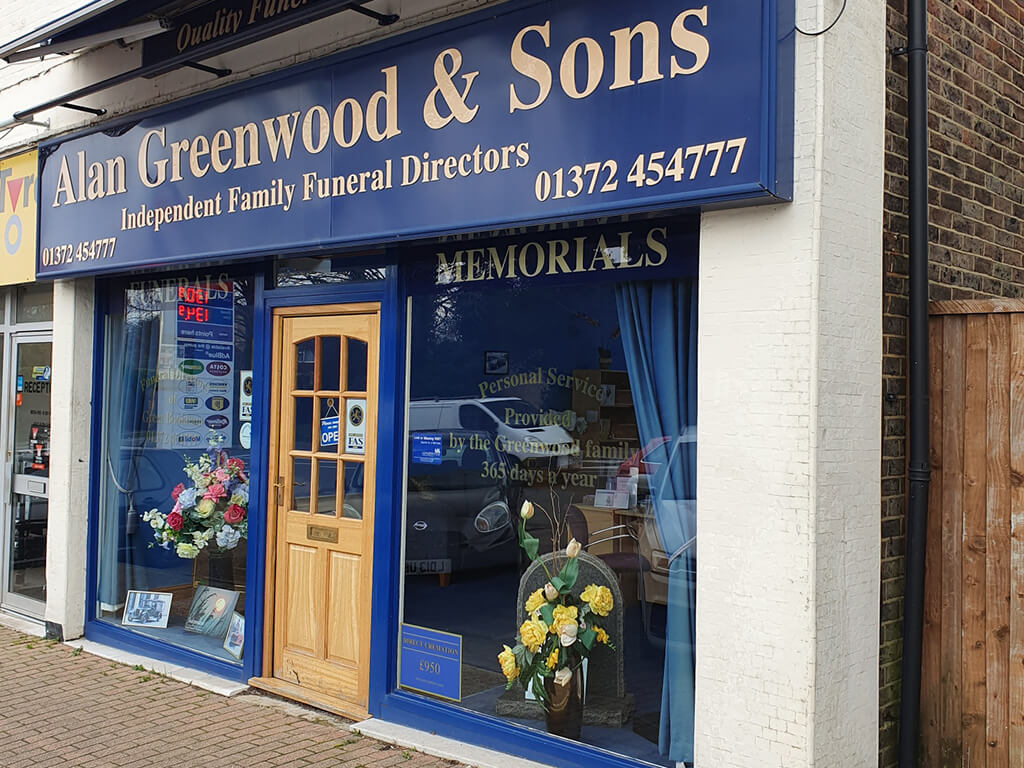 Funeral Directors in Great Bookham