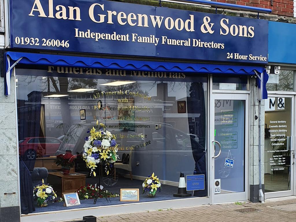 Funeral Directors in Shepperton