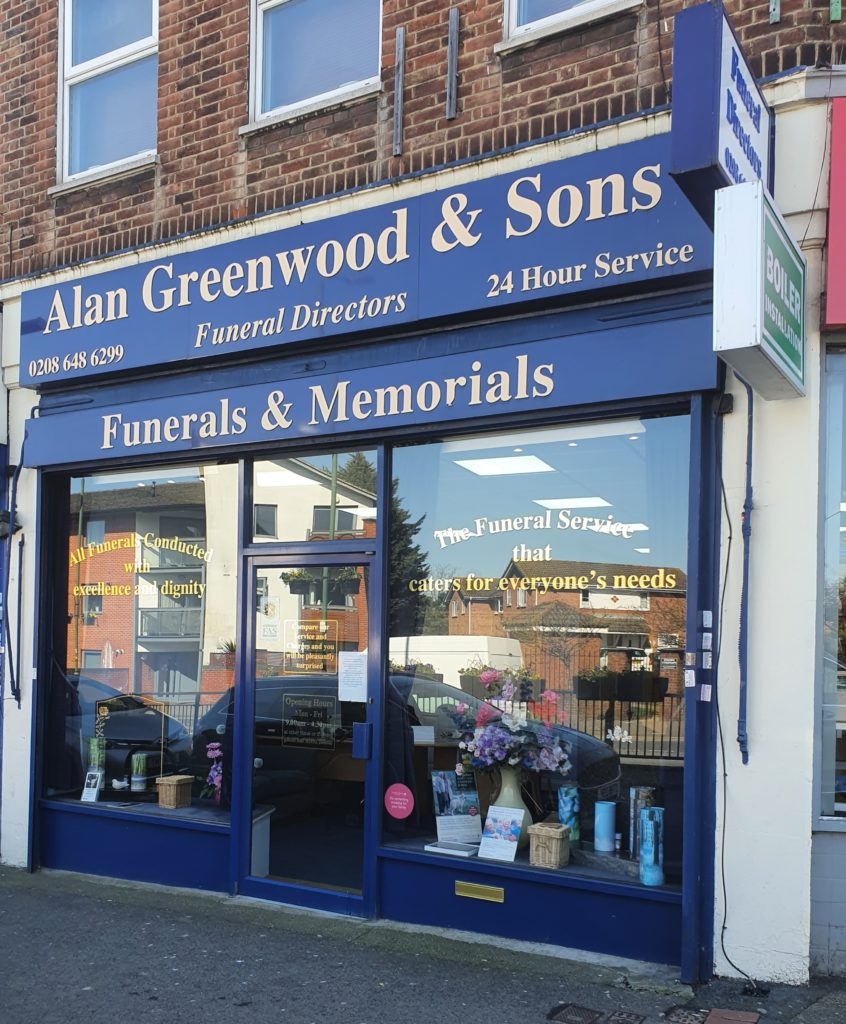 Funeral Directors in Carshalton